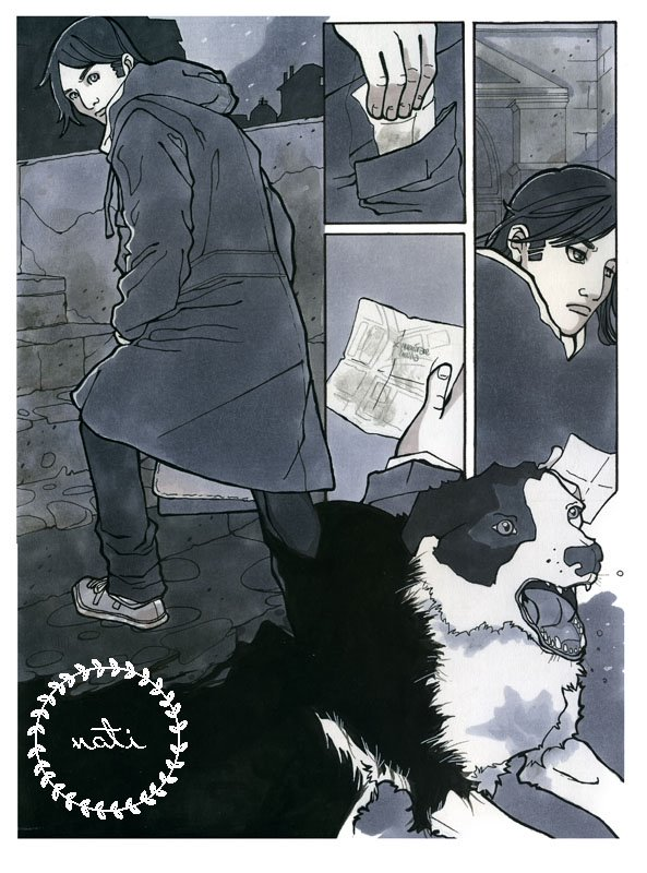 Comic Book sample page
