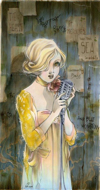 'La Cantante'. Character design